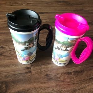 Disney Parks Cups TWO